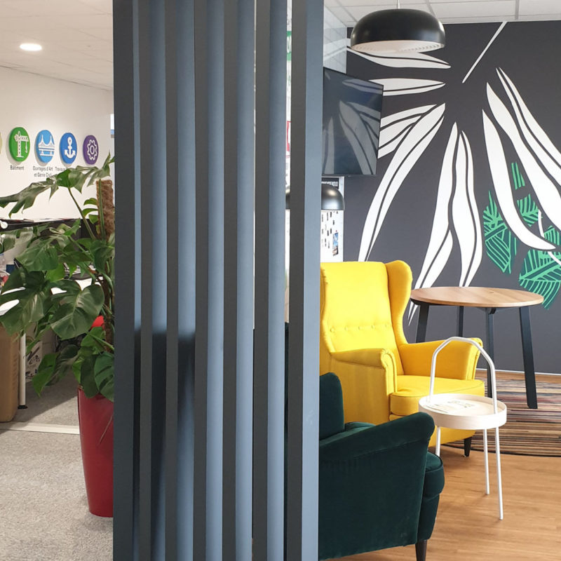 #coffeecorner#biophilicdesign#architecturedesign#interiodesign#officedesign#amenagement
