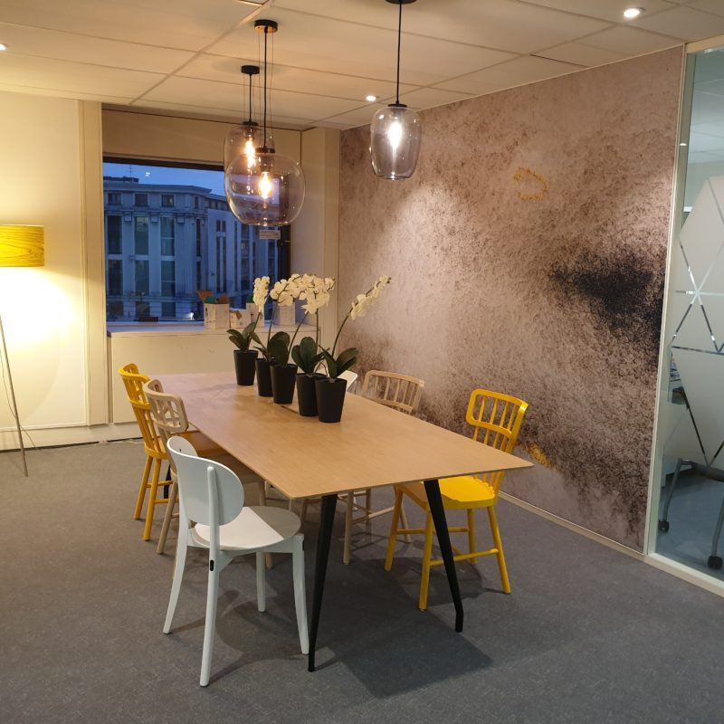 #informalmeetingroom#biophilicdesign#architecturedesign#interiodesign#officedesign#amenagement#bolia#kinnarps