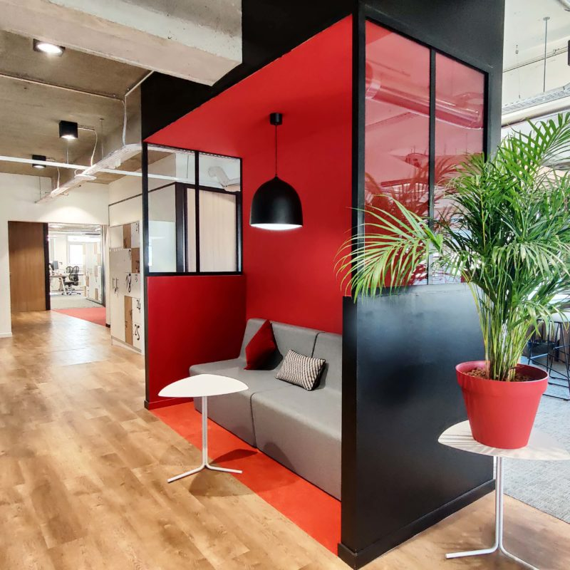 #biophilicdesign#architecturedesign#interiodesign#officedesign#amenagement#styleindustriel#milliken#sokoa